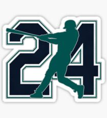 24 - Junior (original) Sticker