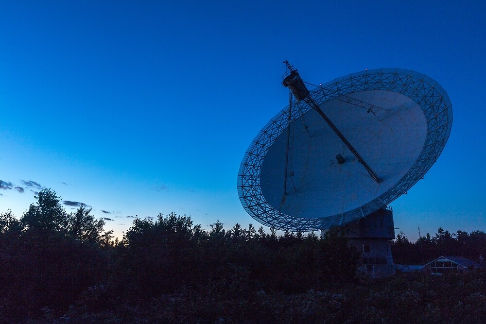 A large Radio Telescope by Josef Pittner