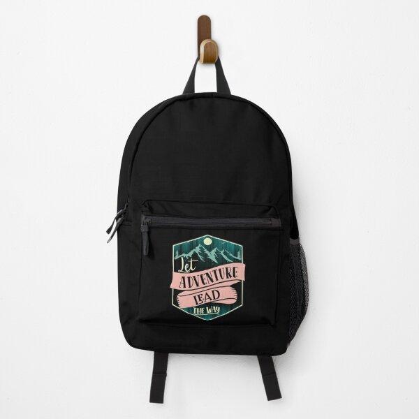 Let adventure lead the way II Backpack