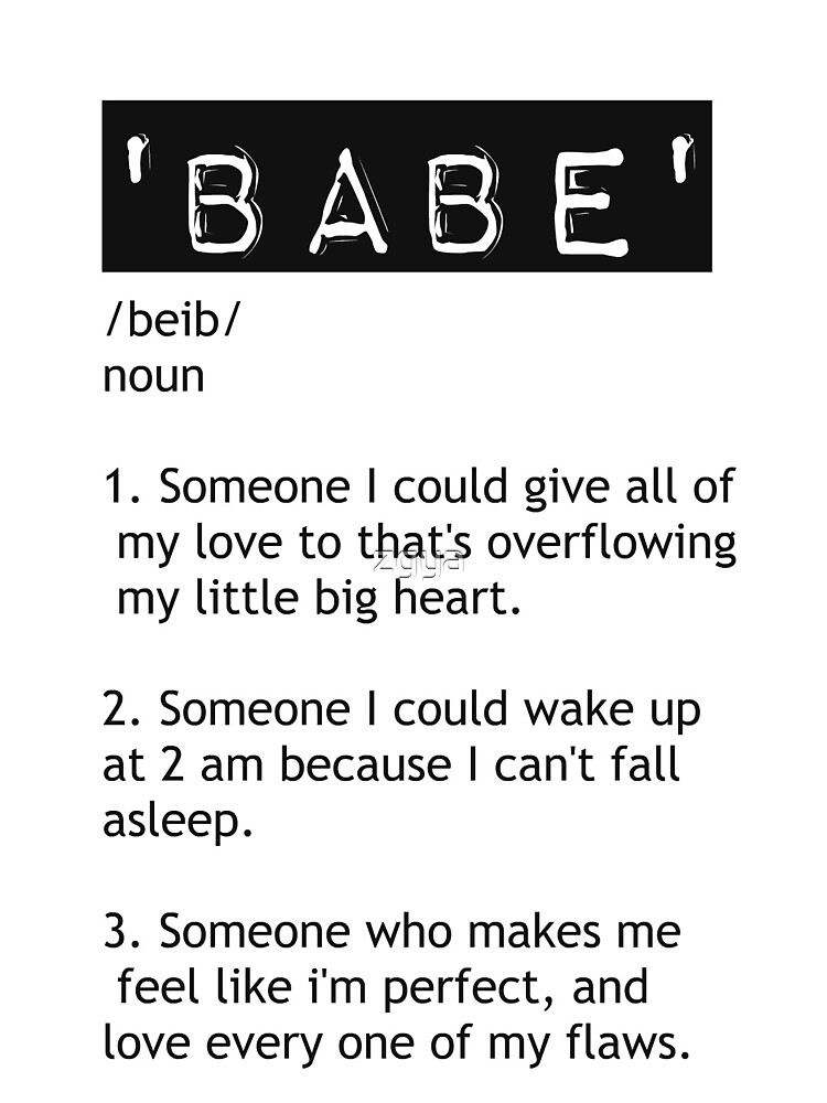 Babe by zgya