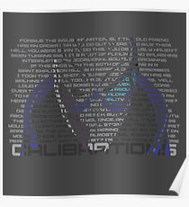 Calibrations Poster