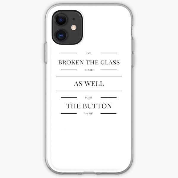 I've Broken The Glass I Might As Well Push The Button - Supernatural Jared Padelecki and Richard Speight Jr's Train Story iPhone Soft Case