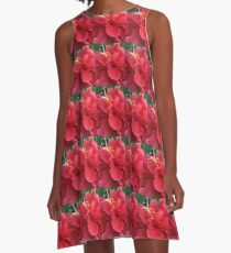 Beautiful Hibiscus  A-Line Dress