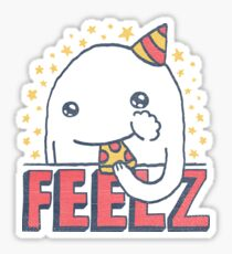 ALL OF THE FEELZ... Sticker