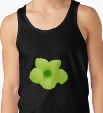 Green Potato Flower Tank Top