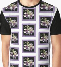 Snail Flower Graphic T-Shirt