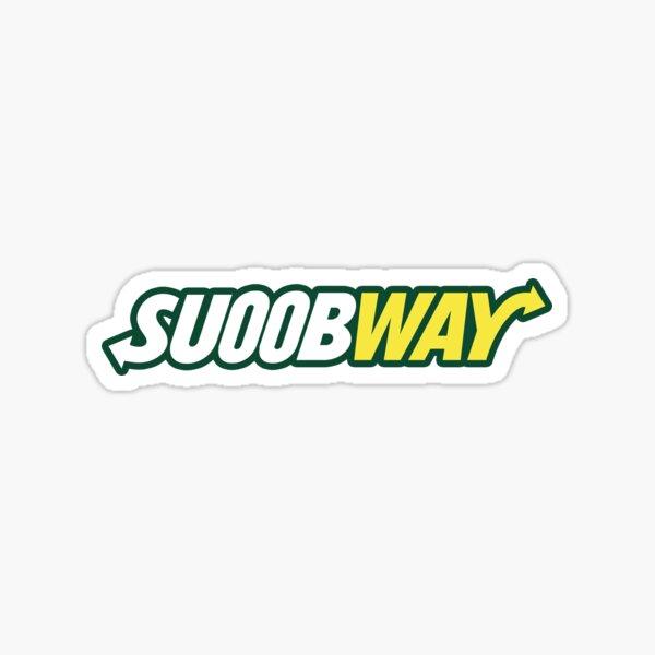 SUOOBWAY Sticker