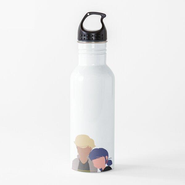 """""""just friends"""" resting their eyes sticker Water Bottle"""