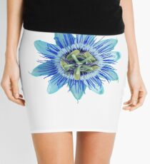 Passion in Blue Mini Skirt