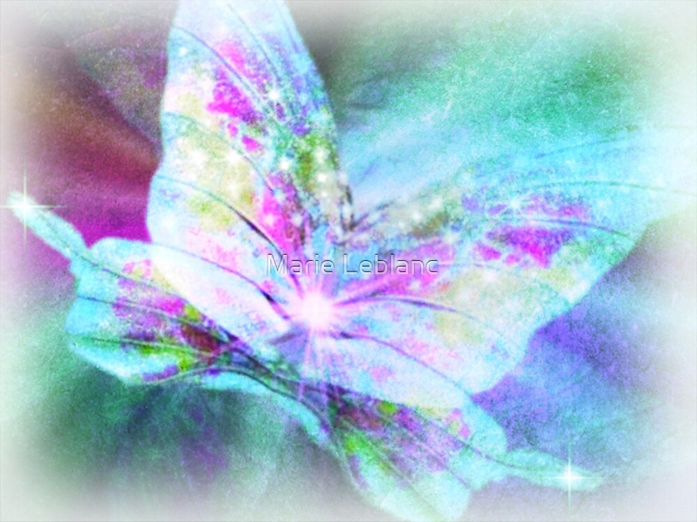 FROM A CATERPILLAR TO A BUTTERFLY by Marie Leblanc
