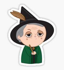 Professor McGonagall Sticker