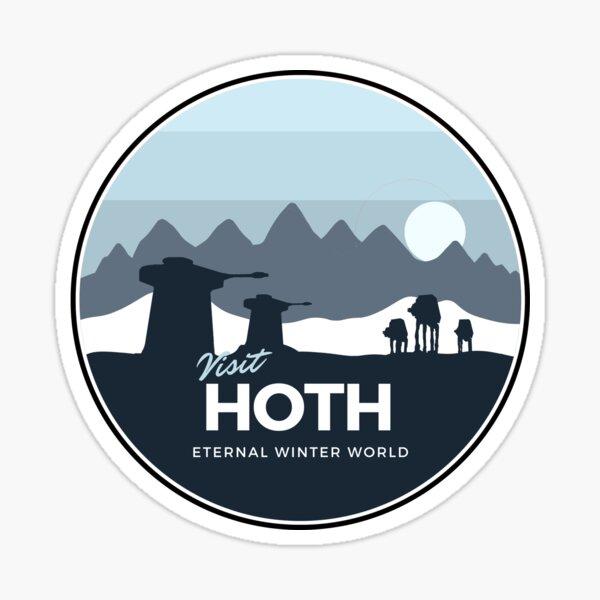 Eternal winter world planet  Sticker