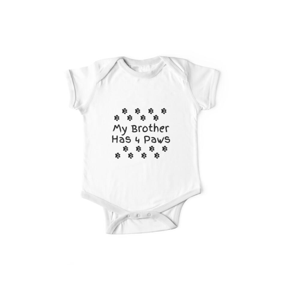 «Mi hermano tiene cuatro patas.» de RBBeachDesigns