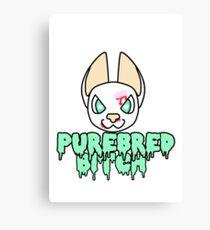 Purebred Bitch Canvas Print