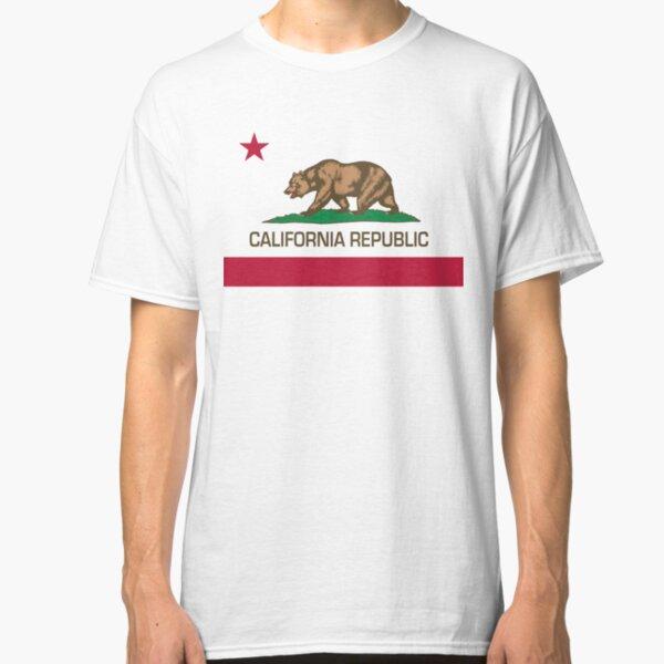 California Republic state flag Authentic version Classic T-Shirt