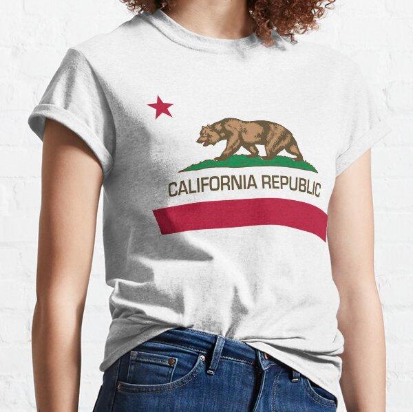 California Republic state flag of California Classic T-Shirt
