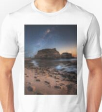 Starlight by the sea Unisex T-Shirt