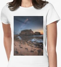 Starlight by the sea Women's Fitted T-Shirt