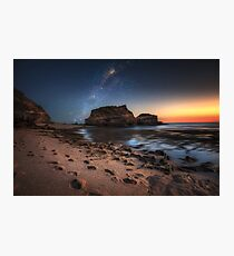 Starlight by the sea Photographic Print
