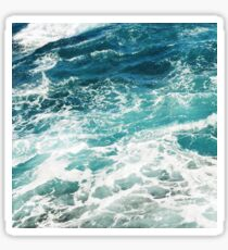 Blue Ocean Waves  Sticker