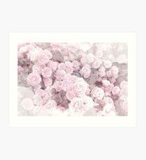 Watercolor Roses Print 2 Art Print