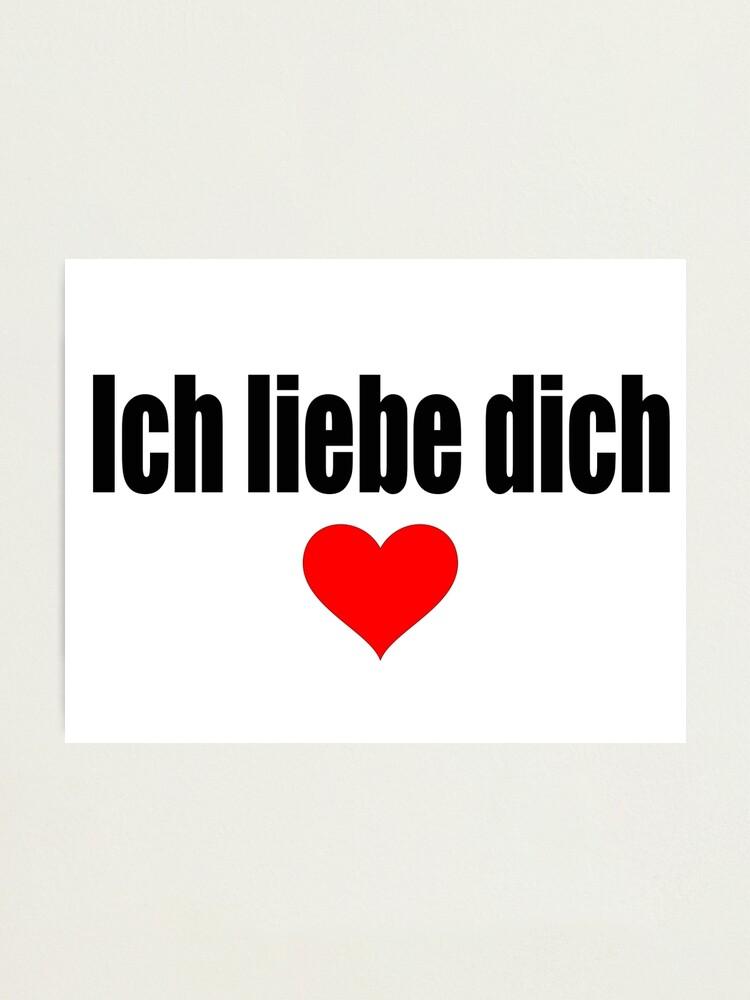Te Amo En Aleman