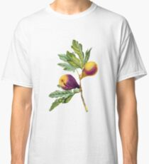 Vintage Botanical Print, Fig by Redoute Classic T-Shirt