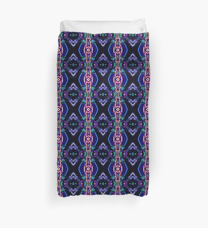 Tribal Visions Geometric Abstract Pattern 5 Duvet Cover