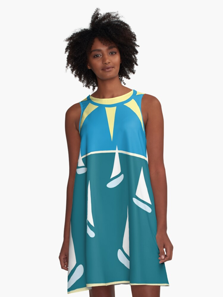 Sails in the summer A-Line Dress Front