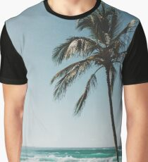 Palm Tree By The Beach  Graphic T-Shirt