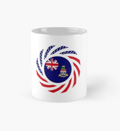 Caymanian American Multinational Patriot Flag Series Mug