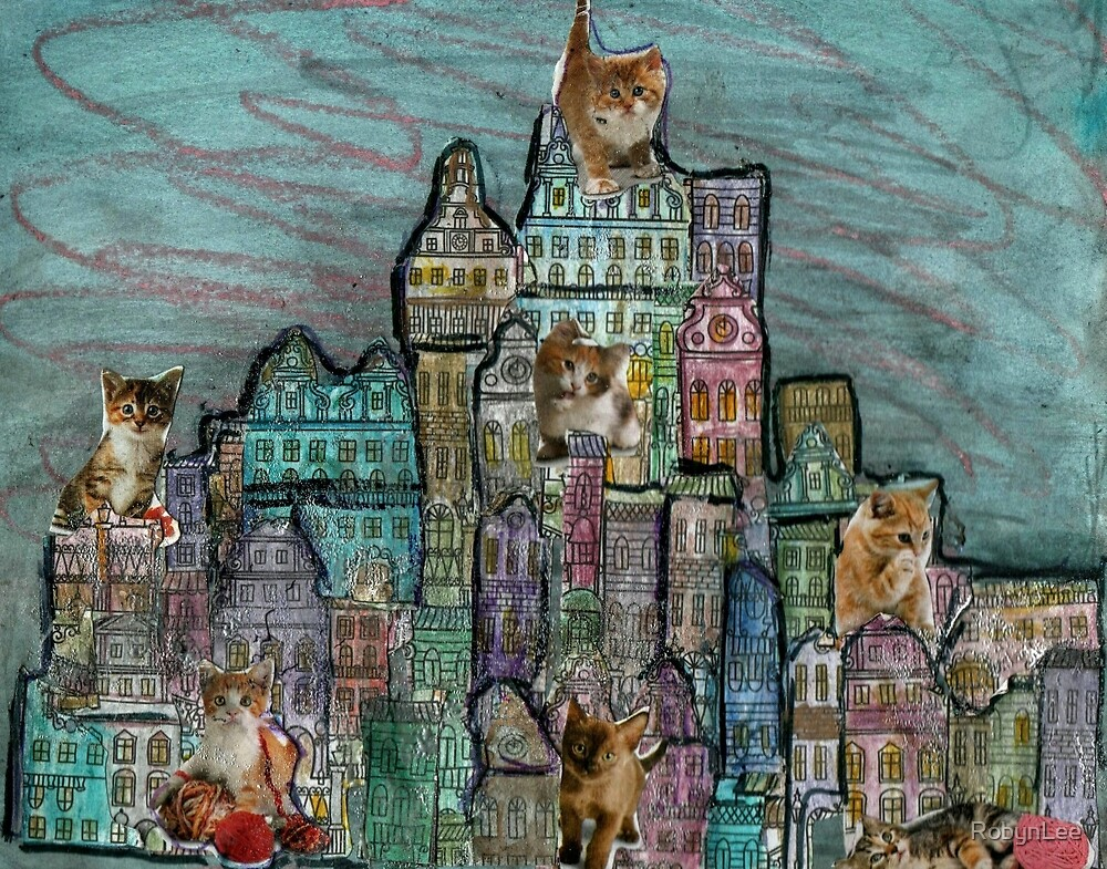 Kitty City by RobynLee