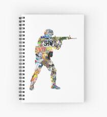 Sticker CSGO Spiral Notebook