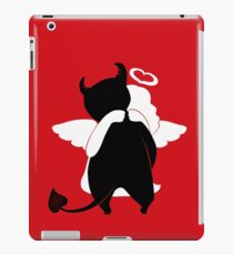 Guess  the evil one iPad Case/Skin