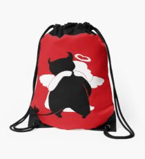 Guess  the evil one Drawstring Bag