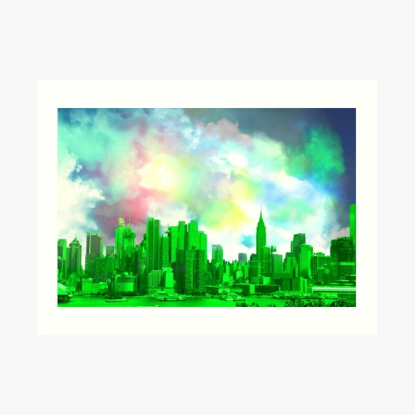 Greetings from the Emerald City Art Print