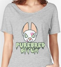 Purebred Bitch Women's Relaxed Fit T-Shirt