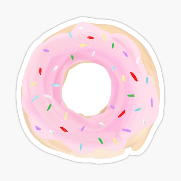 Donut | Pink Sticker
