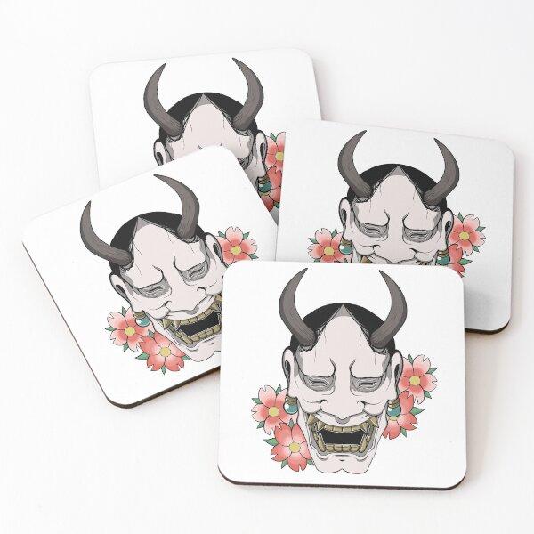 Hannya Coasters (Set of 4)