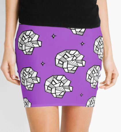 Feeling Rocky Mini Skirt