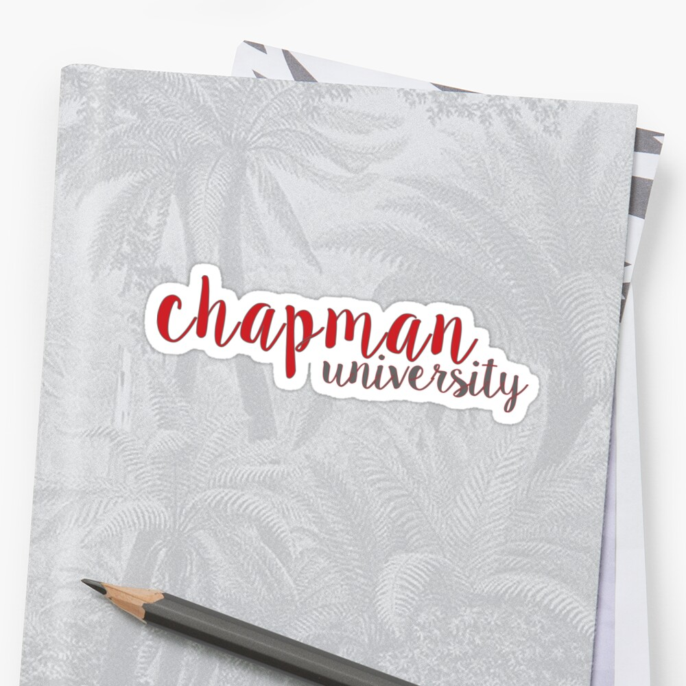 Chapman University by feliciasdesigns