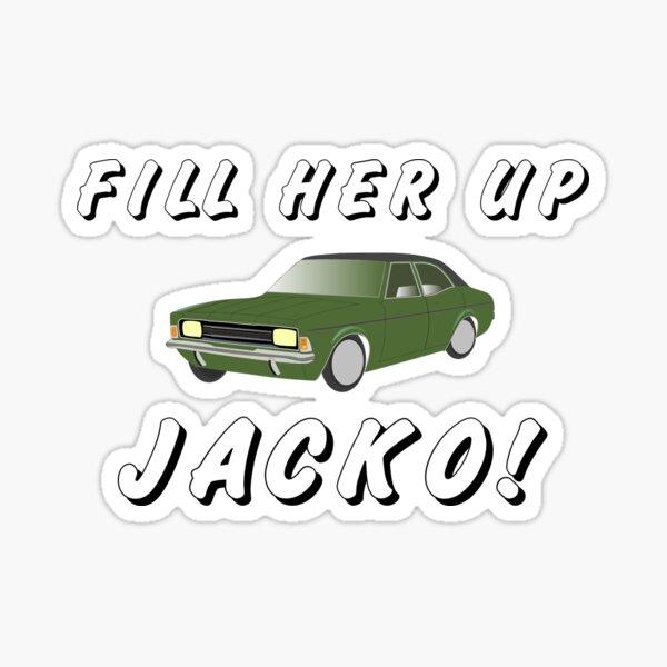 Fill Her Up Jacko Sticker