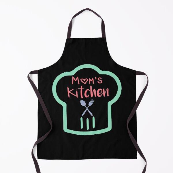 Mom's Kitchen , chef hat, Mama's Kitchen Apron