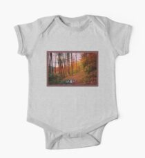 Somewhere in Time ~ A Logging Trail One Piece - Short Sleeve