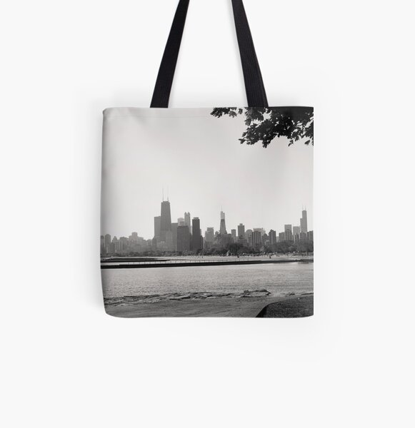 Chicago Shores All Over Print Tote Bag