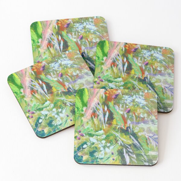 Leafy  Coasters (Set of 4)