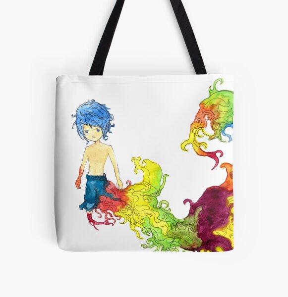 Rainbow boy All Over Print Tote Bag