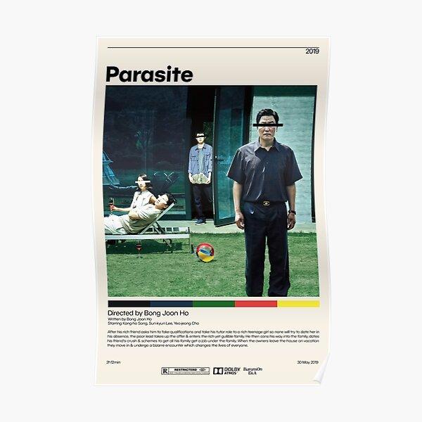Parasite | Bong Joon Ho, Minimalist Movie Poster, Vintage Retro Art Print, Custom Poster, Wall Art Print, Home Decor Poster