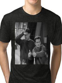 best FRIENDS goals Tri-blend T-Shirt