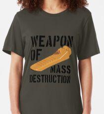 Brick separator olive Slim Fit T-Shirt